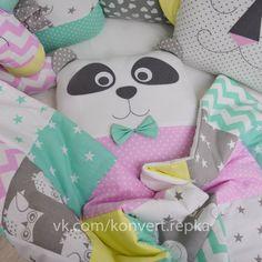 Crib bumpers - Baby bed bumper - Crib bedding - Cot bumper set Cot Bumper Sets, Baby Cot Bumper, Bed Bumpers, Crib Sets, Girl Cribs, Baby Girl Blankets, Animal Pillows, Crib Bedding