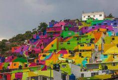 Un majestuoso mural en #Pachuca