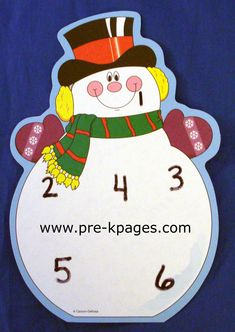Snowman Roll and Stamp Activity