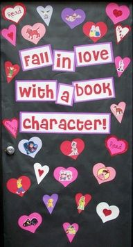This would be adorable to do for Valentine's day. I would give the students a choice of short books to read and based of which one they like the best they get to draw and post their favorite book/character. This might not be the most fun for the boys though.