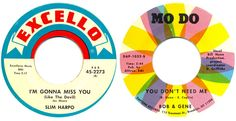 bright record labels.