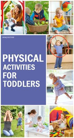 Physical Activities For Toddlers: If you are looking to give your toddler a more active life, look no further! We have compiled this list of some super fun toddler physical activities, which will surely catch your little one's attention!Here are some amazing physical development activities for #toddlers