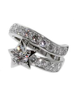 CHANEL COMETE WHITE GOLD DIAMOND RING