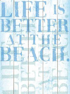 Better at the Beach Wall Decor Beach Wall Decor, Beach House Decor, Beach Condo, Beach Bum, Beach Wood Signs, Vintage Beach Signs, Beachy Signs, Home Living, Coastal Living
