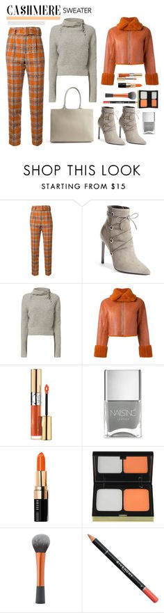 """""""Cozy Cashmere Sweater"""" by faten-m-h ❤ liked on Polyvore featuring Taro Horiuchi, Yves Saint Laurent, 10 Crosby Derek Lam, adidas Originals, Nails Inc., Bobbi Brown Cosmetics, Kevyn Aucoin, Givenchy and cashmere"""