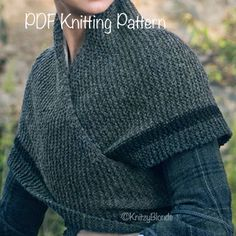 PDF Knitting Pattern Claire's Rent Shawl Outlander-Replica Triangle Shawl - Knitting for Beginners Outlander Knitting Patterns, Loom Knitting, Knitting Patterns Free, Knit Patterns, Hand Knitting, Capelet Knitting Pattern, Intarsia Knitting, Cardigan Pattern, Knitting Needles