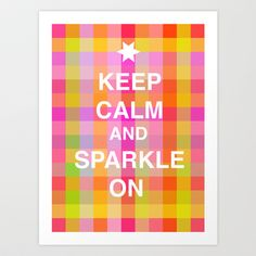 ...and sparkle on
