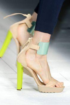 Just Cavalli, neon heel