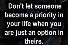 priority or option?