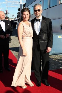 Princess Martha Louise of Norway and her husband Ari Behn arrive for the private Pre-Wedding Dinner of Swedish Prince Carl Philip and Sofia Hellqvist on June 12, 2015 in Stockholm, Sweden.