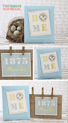 Home Signs : free printable