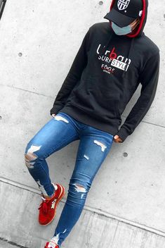 Unnamed Unnamed For other models, you can visit the category. Superenge Jeans, Boys Jeans, Stylish Mens Outfits, Stylish Shirts, Red Sneakers Outfit, Best Ripped Jeans, Mens Fashion Sweaters, Best Mens Fashion, Men's Fashion