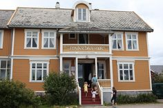 Edvardas Hus på Tranøy in Nordland Norway