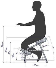 kneeling chair design plan - Поиск в Google