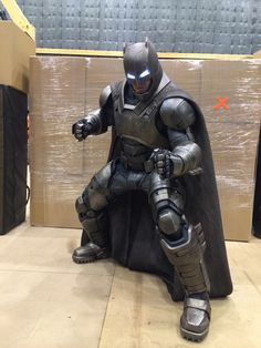 ArtStation - Batman Vs. Superman: Batman Cowl and Armor Suit, Adam Ross