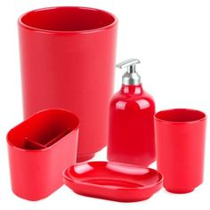 Whether it's a shower caddy for college or college shower curtains, shop Bed Bath & Beyond to discover dorm essentials for college living. Bathroom Red, Bathroom Stuff, Red Bathroom Accessories, College Bathroom, Dorm Essentials, Wedding Gift Registry, Fine China, Bedding Shop, Bath Towels