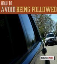 avoid being followed