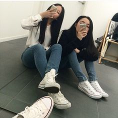 Best Cool Tips: Summer Shoes Hipster shoes diy pearls. Bff Goals, Best Friend Goals, My Best Friend, Squad Goals, Soft Grunge, Grunge Style, Grunge Hair, Superstar Shoes, Formal Casual