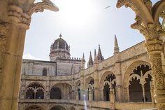 Mosteiro dos Jerônimos em Belém, Portugal