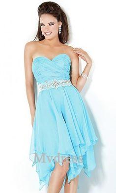 Homecoming Dresses party dress Light Sky Blue Dress Knee  Column Dress Cute 6db332bbf