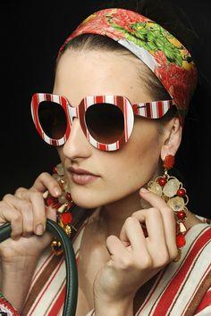 Dolce & Gabbana printed sunglasses