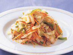 野菜炒め レシピ 講師は中川 優さん 使える料理レシピ集 みんなのきょうの料理 NHKエデュケーショナル