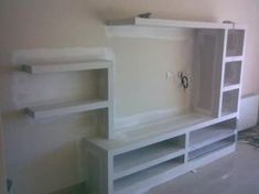 Risultati immagini per living comedor durlock Home Decor Bedroom, Closet Design, Wall Design, Modern Tv Wall Units, Closet Designs, Built In Furniture, Home, House Front Design, Wall Unit