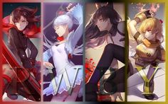 serie : RWBY  youtube channel :Rooster Teeth (english)