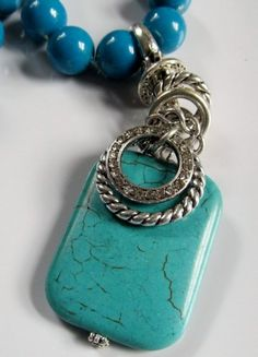One of my own designs.  Love the turquoise!