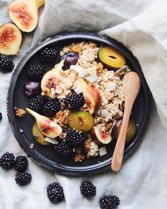 My very favorite way to start the day Overnight Oats (recipe on the blog)…