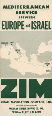 Zim Lines ~ Zim Israel Navigation Co.