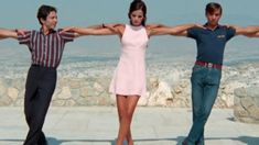 """Dance under the acropolis from the movie """"Apollo Goes on Holiday"""" (Epiheirisis Apollon) with Helena Nathanail and Thomas Fritsch. Movie Songs, Songs To Sing, Movies, Lord Of The Dance, Greek Music, Going On Holiday, Beautiful Songs, World Music, My Heritage"""