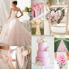 Kleurinspiratie: roze kleuraccenten voor jullie bruiloft met Mori Lee trouwjurk www.weddings.nl