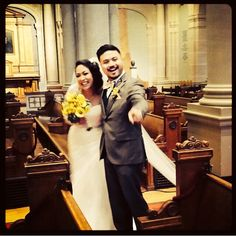 St. Ignatius Church wedding in San Francisco, CA. Learn more about their fun & quirky wedding details in my blog. Full wedding planning!