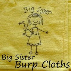 """Love this for an easy """"Big Sister"""" gift!"""