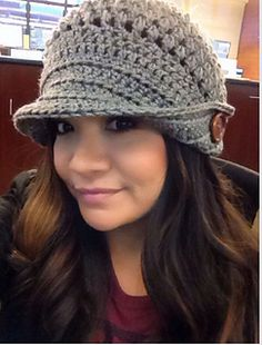 "The adorable ""Elisa "" hat as featured on Pinterest!!"