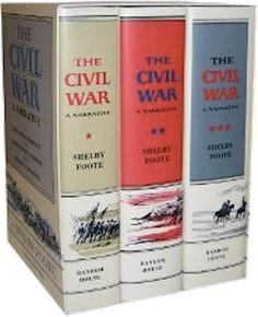 THE CIVIL WAR - A NARRATIVE -Shelby Foote  3 Vols.