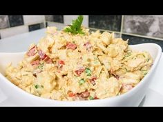 not everyone knows this Cauliflower recipe! Three Ingredients and Cauliflower Veggie Side Dishes, Cauliflower Recipes, Buffet, Other Recipes, Food Videos, Sprouts, Potato Salad, Cabbage, Dinner