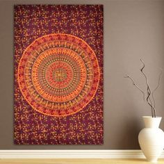 Elephant & Camel Tapestry, Indian Hippie Wall Hanging , Bohemian Bedspread…