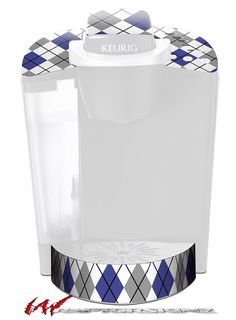 Argyle Blue and Gray - Decal Style Vinyl Skin fits Keurig K40 Elite Coffee Makers (KEURIG NOT INCLUDED) >>> Check out this great image  : Coffee Tea Espresso