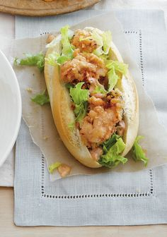 Fried Oyster Po'Boys Recipe (secret ex. ingredient, sriracha!) to pair with our New Release Cathedral Ridge Necessity White (August Pairing)