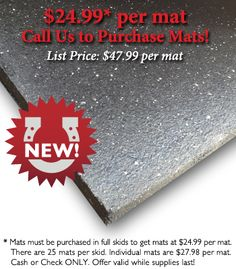 Looking to set up a #CrossFit box or home gym? Check out these mats...best price BY FAR I have found!