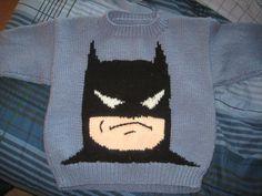 Batman Sweater-Super cute!