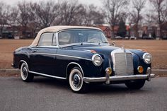 Germany. 1958 Mercedes-Benz 220 S Cabriolet