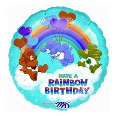 Care Bears Happy Days Foil Balloon - http://www.247babygifts.net/care-bears-happy-days-foil-balloon/