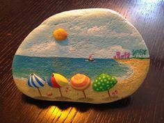 Rock Painting Ideas Beach Themed