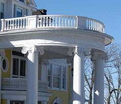 Colonial Revival in Picton Colonial Revival Architecture, Gazebo, Outdoor Structures, House, Ideas, Home, Deck Gazebo, Haus, Cabana