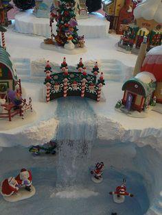 North Pole falls