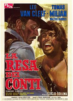THE BIG GUNDOWN - Lee Van Cleef - DVD cover art.