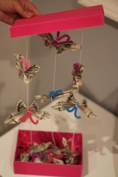 Tutorial: Butterfly Money Gift - Something... Beautiful, Colorful - BLOG